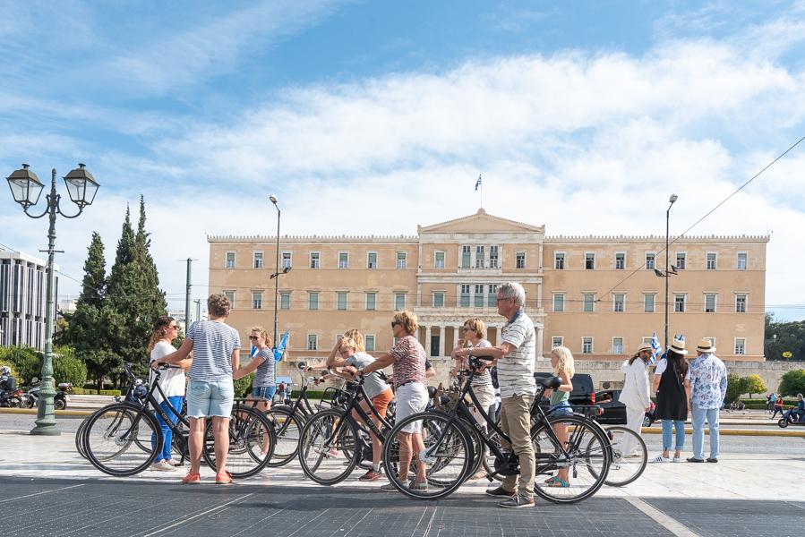 Athens Voice Guides Bike Tour