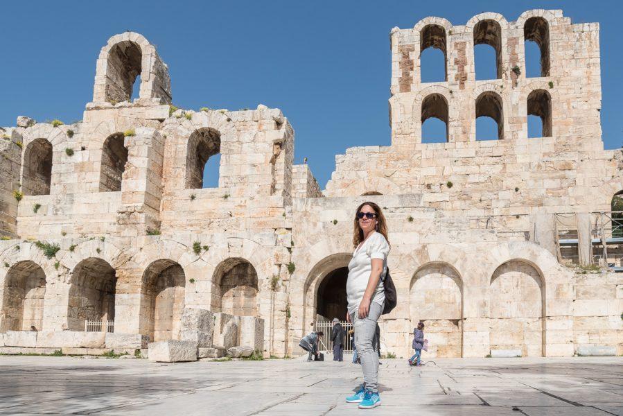 Odeon of Herodus Atticus Athens Walking Tours Acropolis Festival