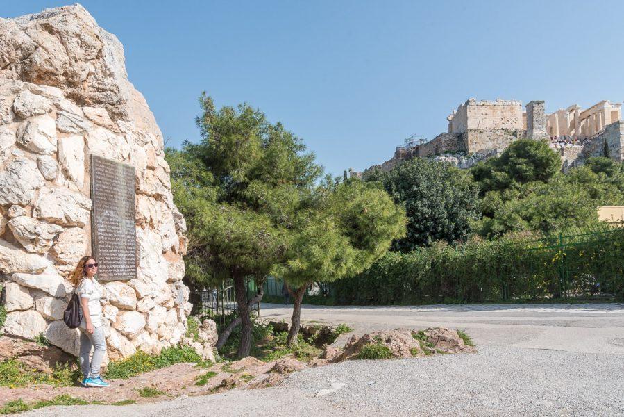 Athens Walking Tours Mars Hill Acropolis Panoramic View