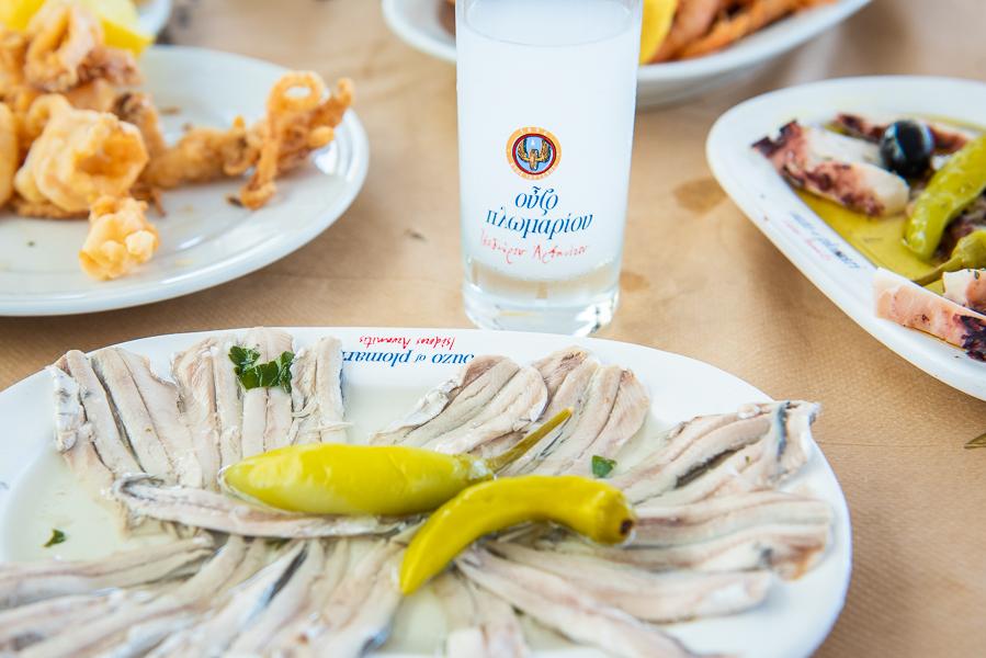 Athens Voice Guides Food Tour Meze Ouzo