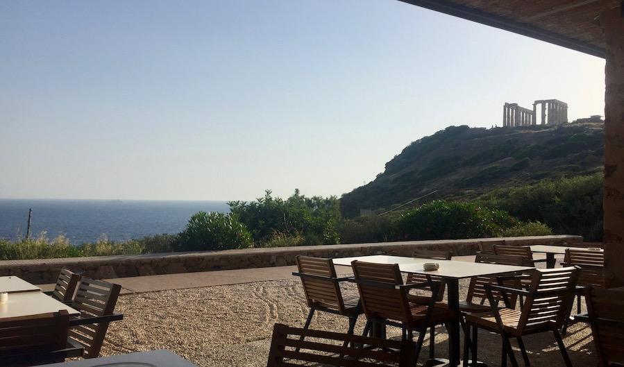 Sounio Temple of Poseidon Aegean Sea Sunset Athens Voice Guides