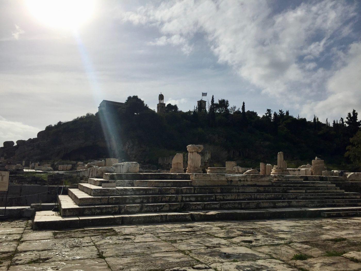 Dimitra Sanctuary Sacred Elefsina Athens Voice Guides
