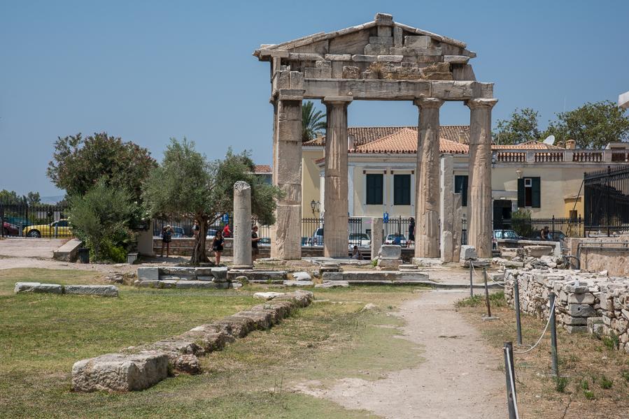 Roman Agora Gods Athens Voice Guides