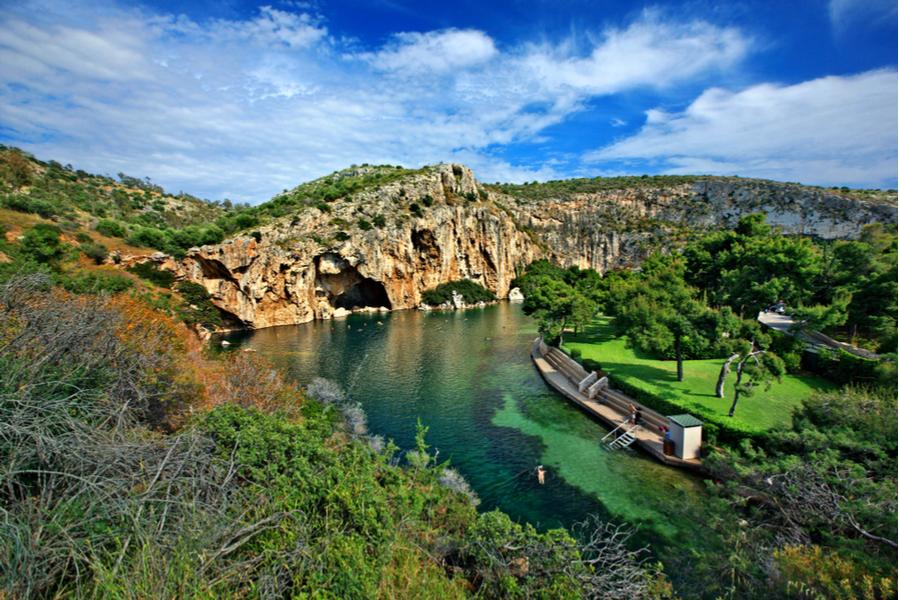 Vouliagmeni Lake Athenian Riviera Athens Voice Guides